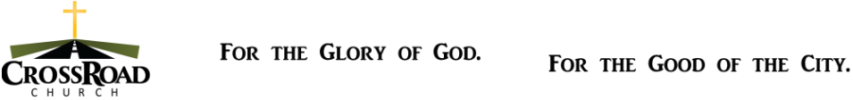 CrossRoad Church Logo