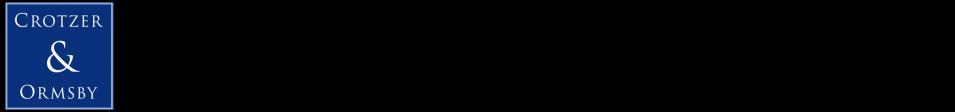 Crotzer & Ormsby, LLC logo