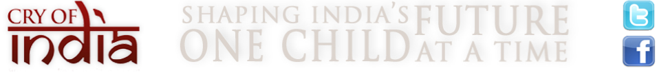Cry of India - A Child Sponsorship Program logo