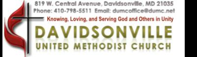 Davidsonville UMC logo