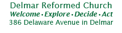 Delmar Reformed Church logo