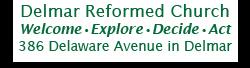 Delmar Reformed Church logo