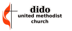 Dido United Methodist Church logo