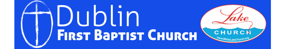 Dublin First Baptist Church logo