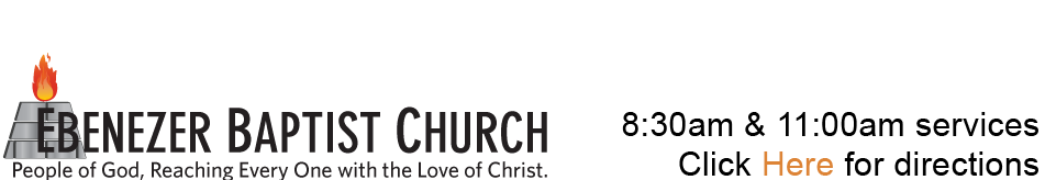 Ebenezer Baptist Church logo