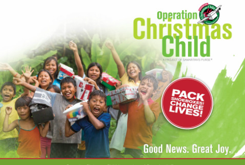 Christmas Child.Ebenezer Baptist Church Ministries Operation Christmas Child