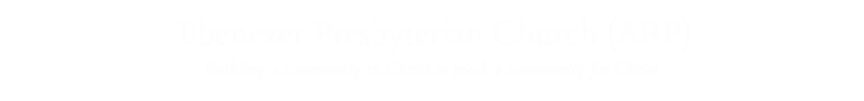 Ebenezer Presbyterian Church logo