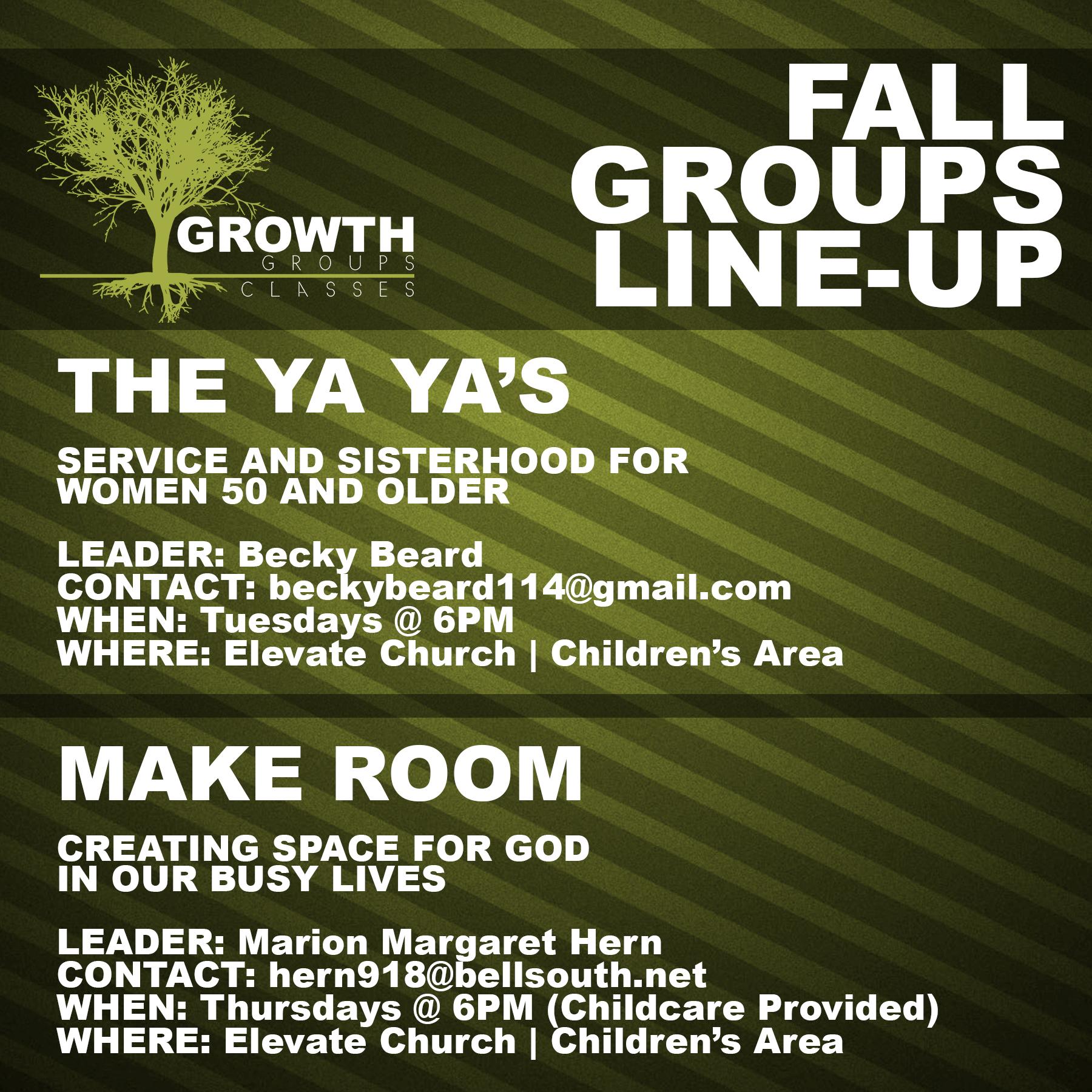 Elevate Church Vicksburg MS / Grow / Groups | Classes
