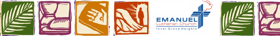 Emanuel Lutheran Church logo