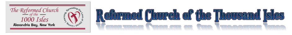 Reformed Church of the Thousand Isles logo