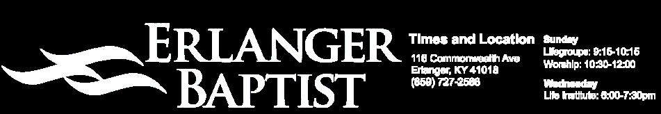 Erlanger Baptist Church logo