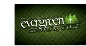 Evergreen Community Church logo
