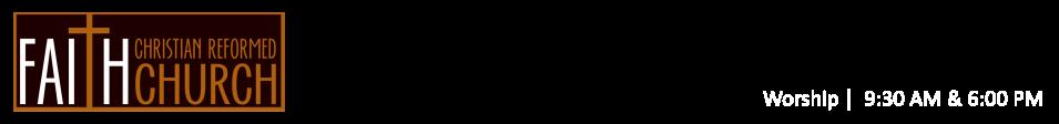 Faith Christian Reformed Church logo
