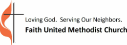 Faith United Methodist Church logo