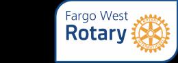 Fargo West Rotary logo
