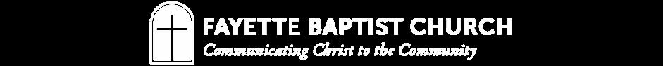 Fayette Baptist Church logo