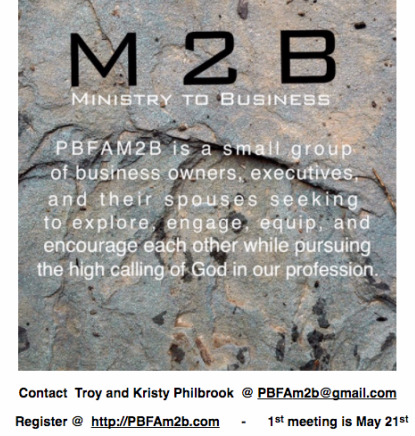 Pine Bluff First Assembly / Ministries / Ministry 2 Business