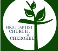 First Baptist Chruch of Cherokee logo
