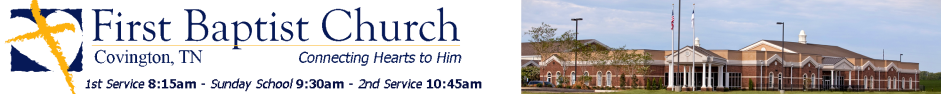 First Baptist Church - Connecting Hearts to Him logo