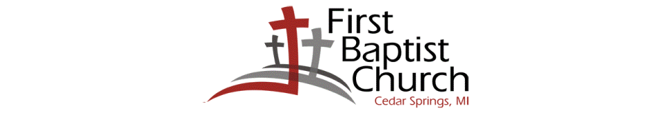 First Baptist Church of Cedar Springs logo