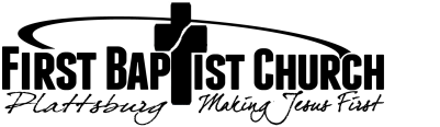 First Baptist Church Plattsburg, MO logo