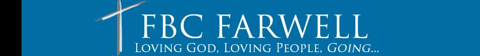 First Baptist Church Farwell logo