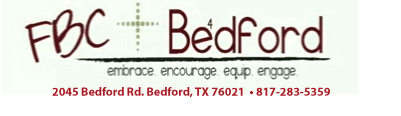 First Baptist Church of Bedford logo