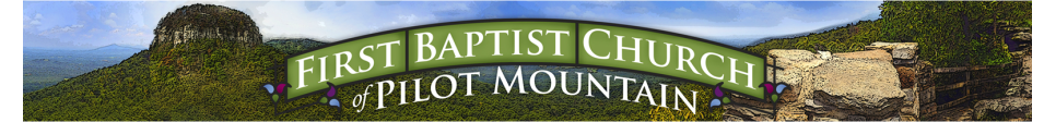First Baptist Church of Pilot Mountain logo