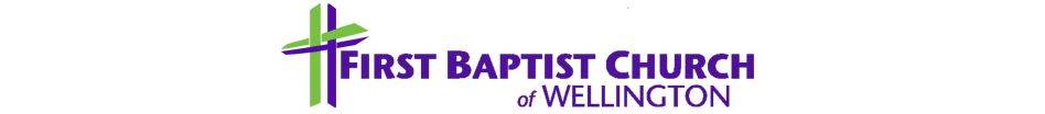 First Baptist Church of Wellington logo