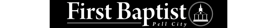 First Baptist Church Pell City logo