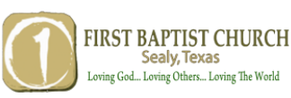 First Baptist Church Sealy TX logo