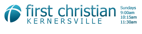 Welcome to First Christian Ministries a great church located in Kernersville NC logo