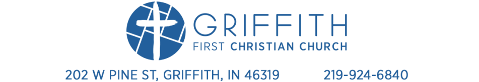 First Christian Church Griffith - Griffith - Highland - Indiana logo