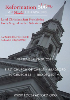 First Church of Christ / Calendar / Reformation500 Conference