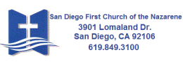 San Diego First Church of the Nazarene logo