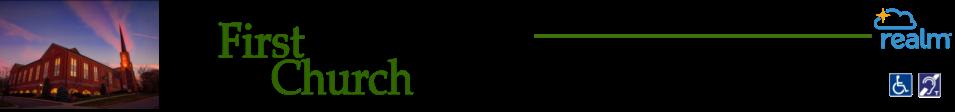 First Congregational Church logo