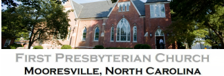 Mooresville First Presbyterian Church logo