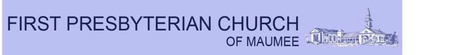 First Presbyterian Church of Maumee logo