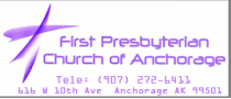 First Presbyterian Church of Anchorage logo