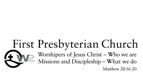 First Presbyterian Church of Chattanooga logo