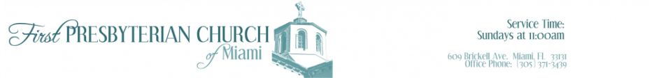 First Presbyterian Church of Miami logo