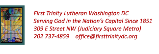 First Trinity Lutheran Church logo