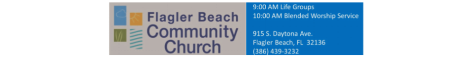 Flagler Beach Community Church logo