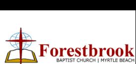 Forestbrook Baptist Church logo