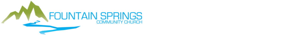 Fountain Springs Community Church, Rapid City logo