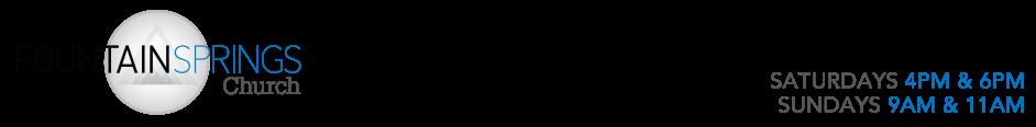 Fountain Springs Church, Rapid City logo
