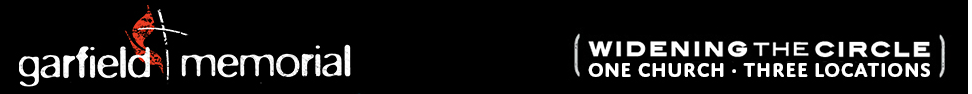 Garfield Memorial Church  |  Pepper Pike and South Euclid, Ohio logo