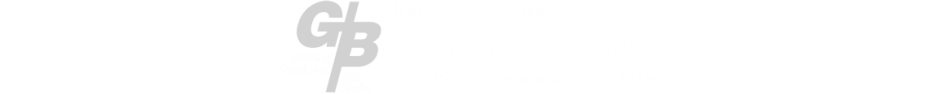 General Baptist Ministries logo
