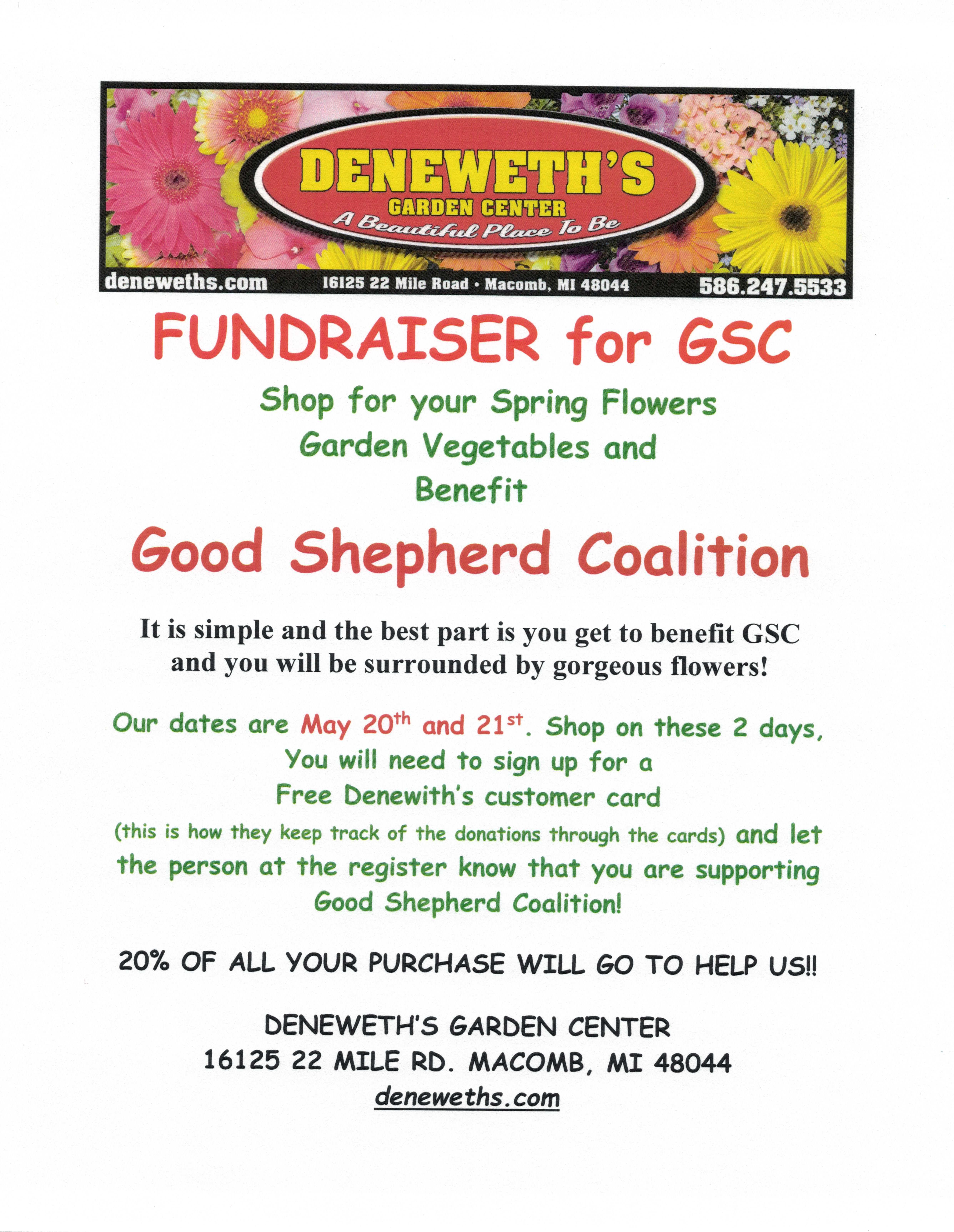 good shepherd coalition / about us / gsc fund raising events
