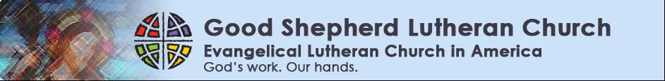 Good Shepherd Lutheran Church  Alexandria VA logo